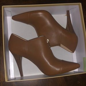 Micheal Kors Andi Leather Bootie